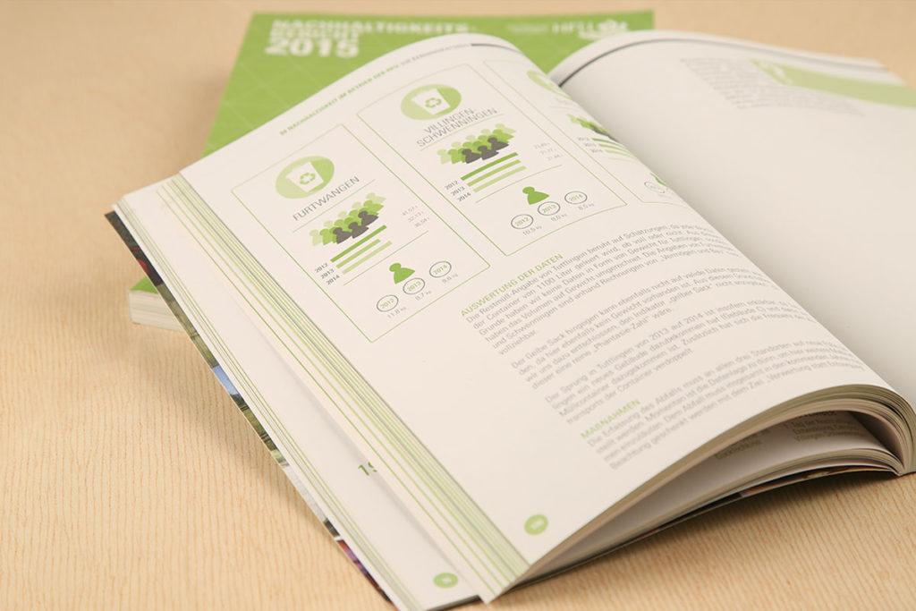Buchdesign Infografiken