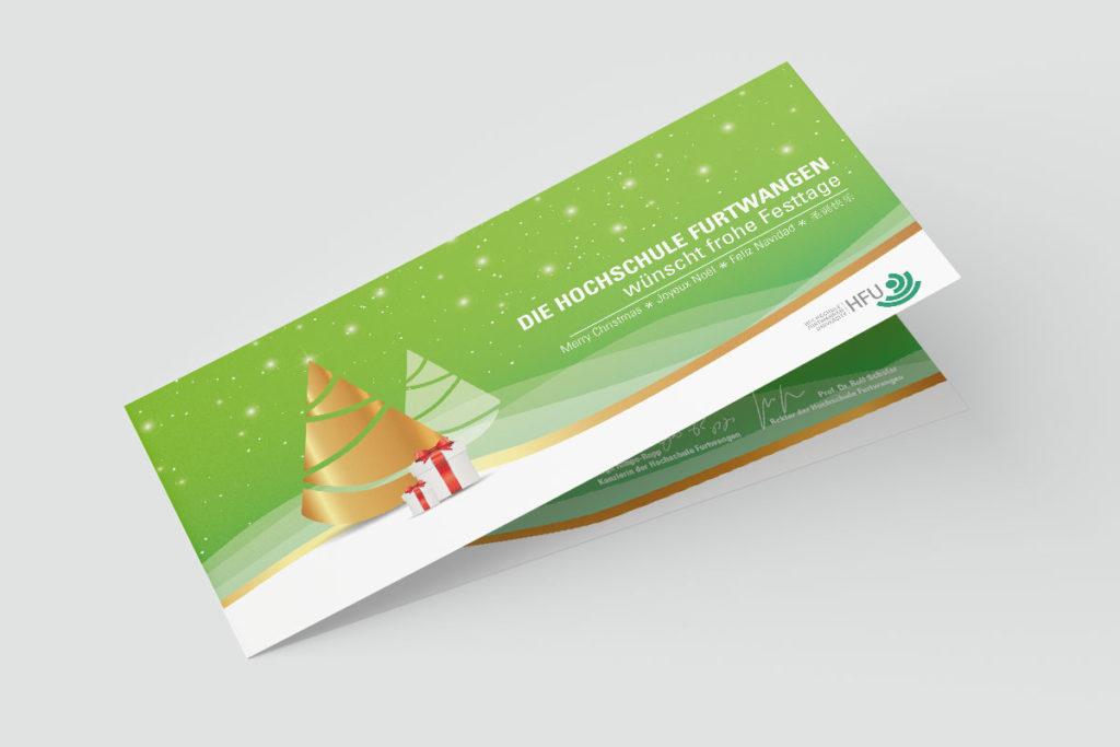 Grußkarten Design Titelseite
