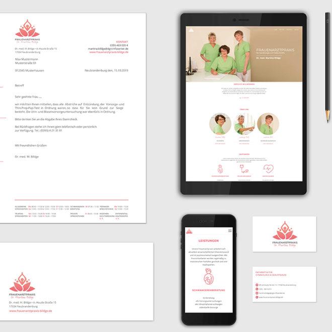 Frauenarztpraxis_Branding